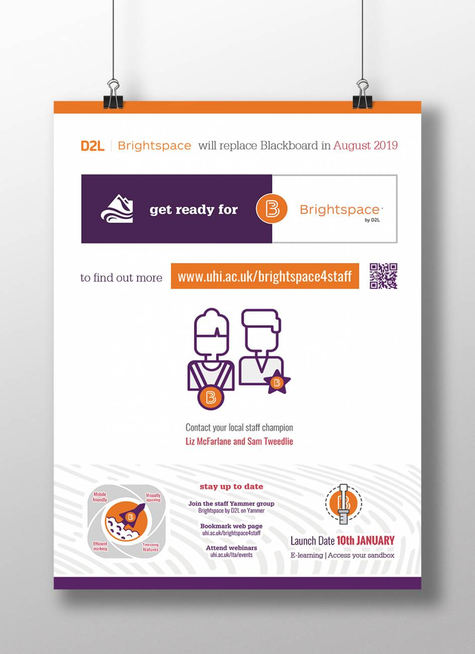 Re-branding of the University Learning Management System