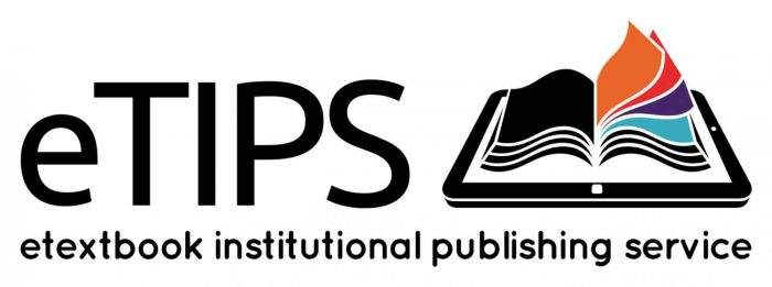 eTextbook Institutional Publishing Service